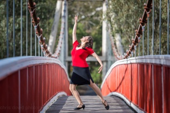 Elena Osalde at Kane Bridge - Site Specific (2016)